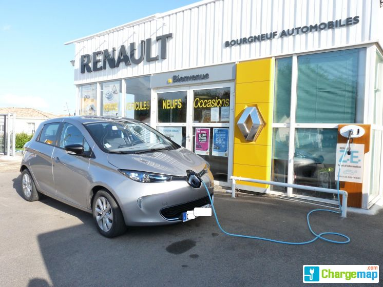 Bourgneuf automobiles borne de charge bourgneuf en retz for Garage mobile rennes