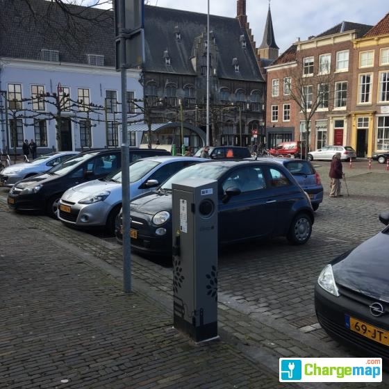 Damplein Middelburg Oplaadstation In Middelburg