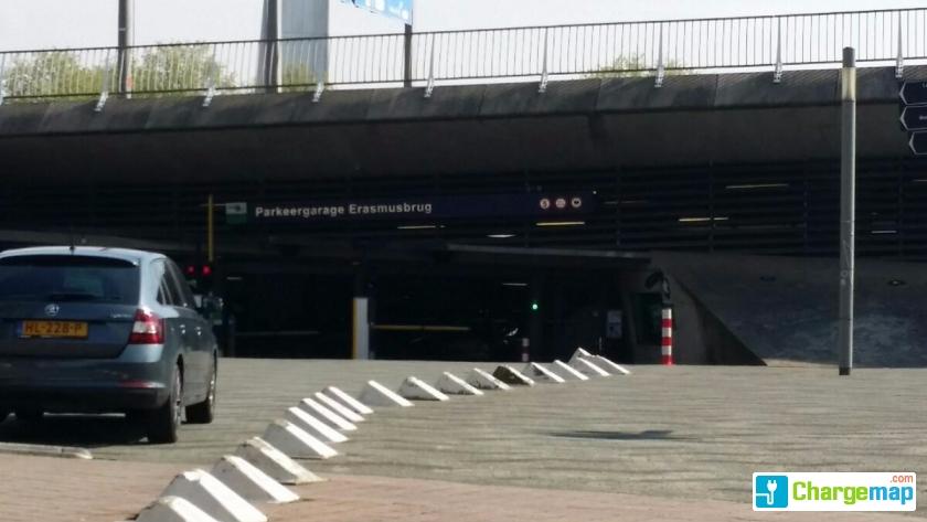 Auto Garage Rotterdam : Willemsplein erasmusbrug garage rotterdam ladestation in rotterdam