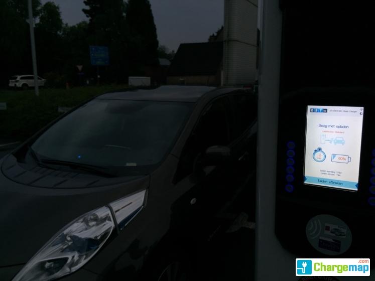 Nissan Bist Aartselaar Quick Charging Station In Aartselaar
