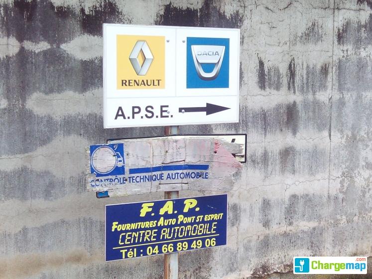 Renault pont saint esprit borne de charge pont saint esprit - Garage pont saint esprit ...