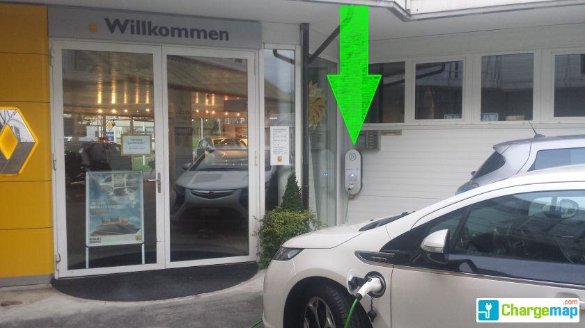 Wohlen garage rohrbach borne de charge wohlen for Garage mobile rennes