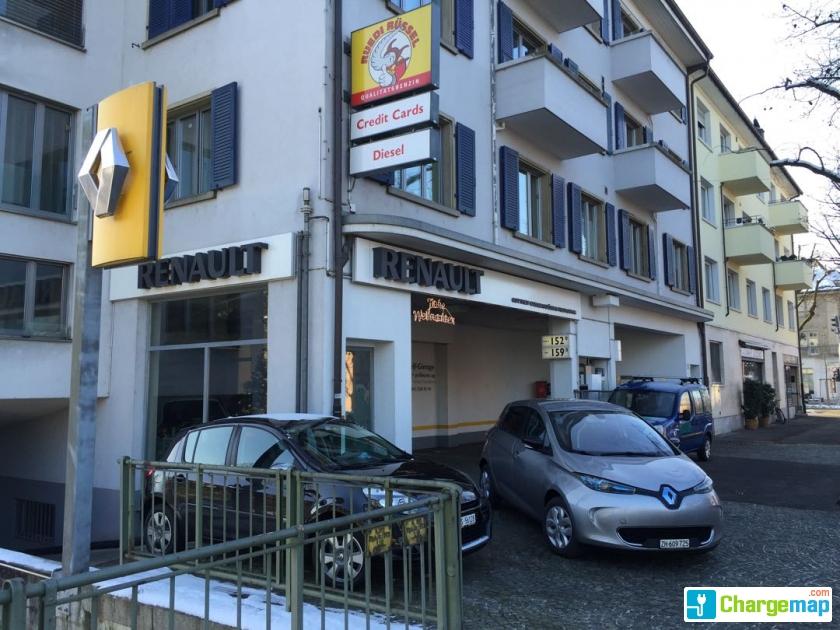 Renault basel gotthelf garage borne de charge basel - Garage renault le plus proche ...