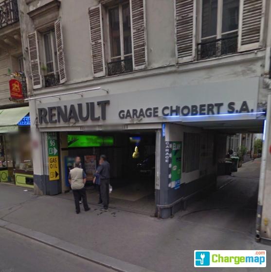 Garage chobert charging station in paris for Garage oberkampf parking