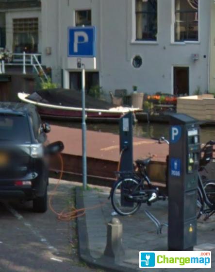 Nieuwe Rijn Leiden Oplaadstation In Leiden