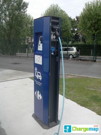 parking station service carrefour charging station in sainte genevi ve des bois. Black Bedroom Furniture Sets. Home Design Ideas