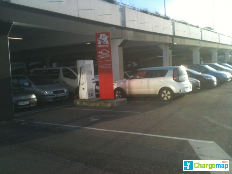 Carte Kiwhi Auchan.Auchan Le Havre Quick Charging Station In Le Havre