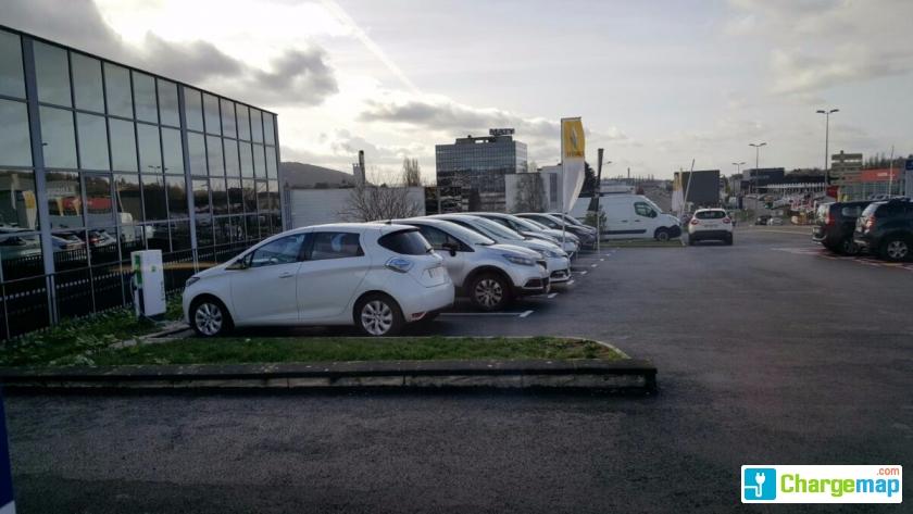 Renault besan on borne de charge besan on - Garage renault besancon boulevard kennedy ...