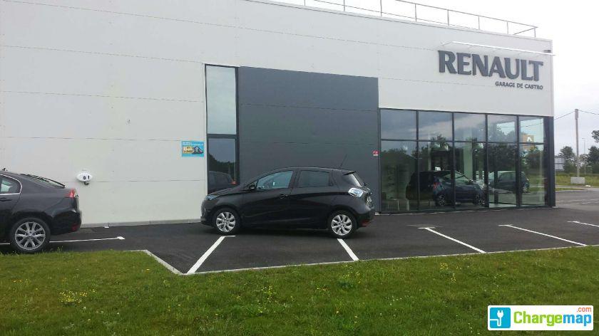 Renault guipavas borne de charge guipavas - Garage renault le plus proche ...