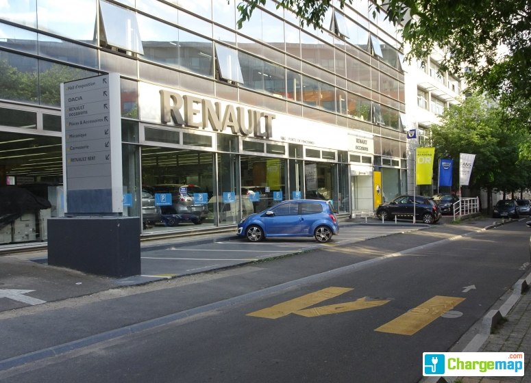 renault montreuil ladestation in montreuil