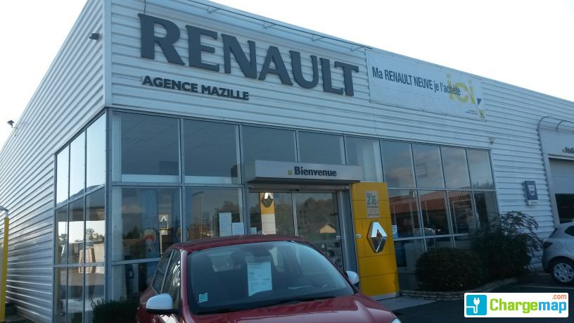 Renault garage mazille charging station in saint germain for Garage renault saint orens