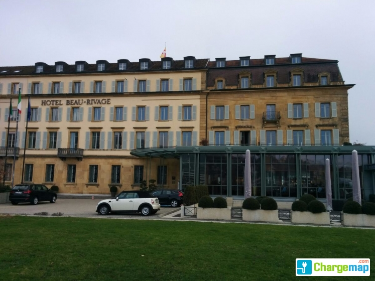 Green Motion Neuchatel Hotel Beau Rivage Estacion De