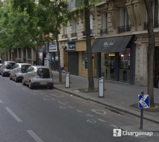 autolib 39 245 rue de tolbiac paris borne de charge paris. Black Bedroom Furniture Sets. Home Design Ideas