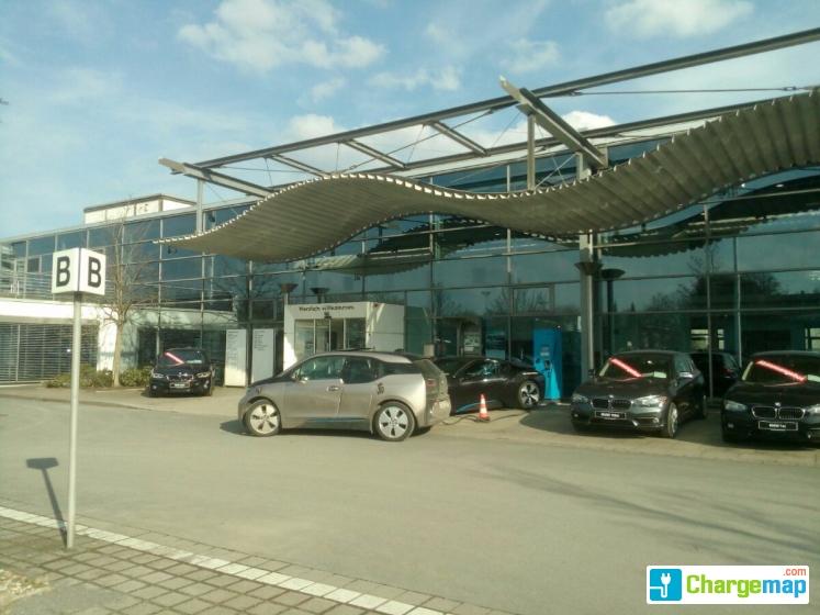 chargenow ladestation - bmw niederlassung hannover