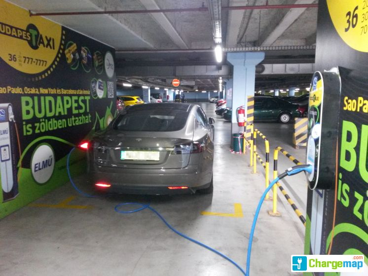 Lurdy h z borne de charge budapest for Assurance voiture garage parking