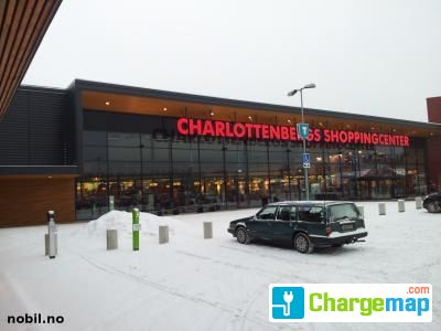 Charlottenbergs Shoppingcenter Charging Station In Charlottenberg
