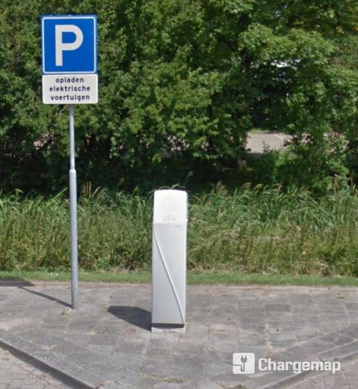 Vlasstraat 7 Oplaadstation In Ridderkerk