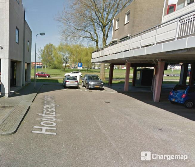 Houtzaagmolen 119 Oplaadstation In Ridderkerk