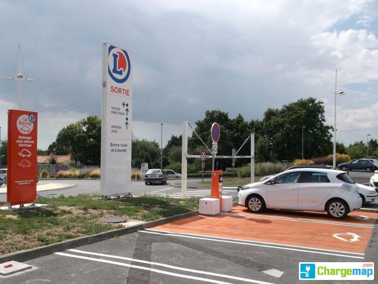 Leclerc sud avenue borne de charge la roche sur yon - Recharge leclerc mobile ...
