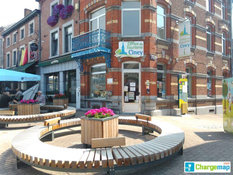 Office du tourisme ciney pour v lo uniquement borne de charge ciney - Office de tourisme de belgique ...