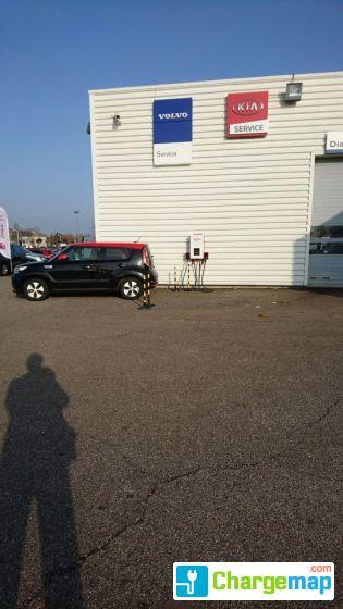 Kia ford essey l s nancy borne de charge essey l s for Garage renault essey les nancy