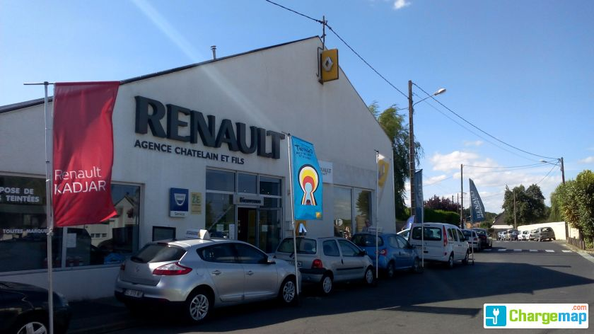 Renault ch telain et fils charging station in boissy for Garage mobile rennes