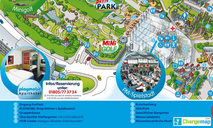 Map Of Zirndorf Germany.Playmobil Funpark Charging Station In Zirndorf