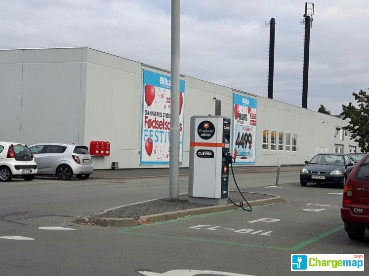 Bilka Tilst Quick Charging Station In Tilst