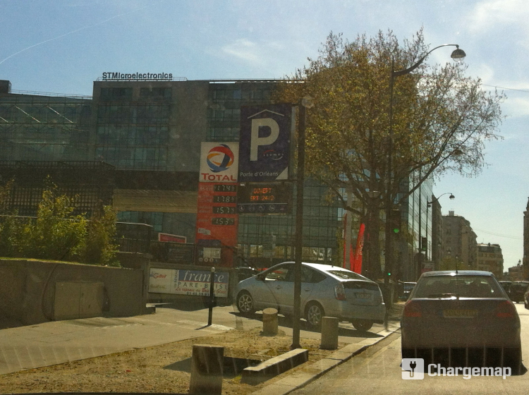 Parking porte d 39 orl ans borne de charge paris - Porte d orleans ...