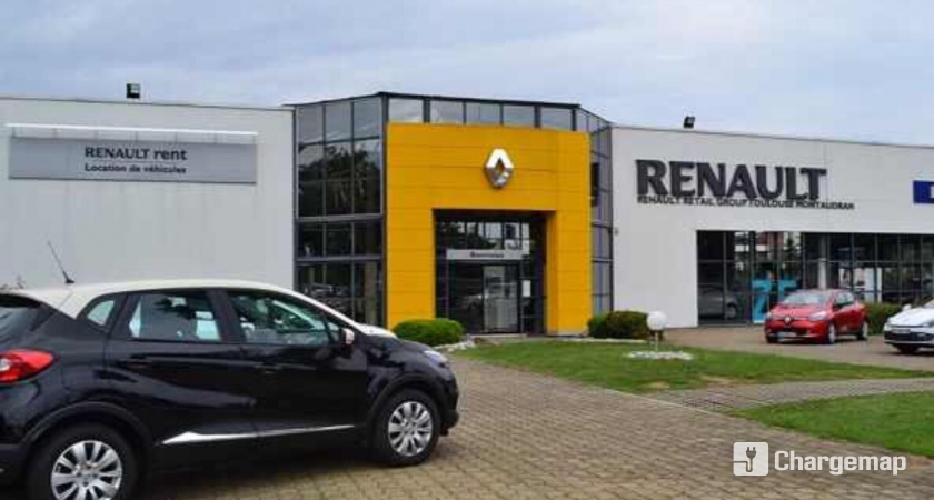 renault toulouse charging station in toulouse. Black Bedroom Furniture Sets. Home Design Ideas