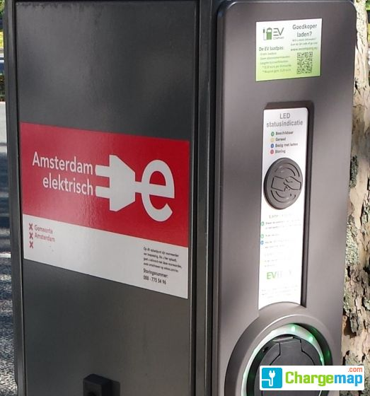 Abb Snellader Ccs Chademo 10 Europaboulevard Snellaadstation In