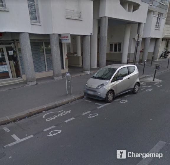 autolib 39 8 rue adolphe mille paris borne de charge paris. Black Bedroom Furniture Sets. Home Design Ideas