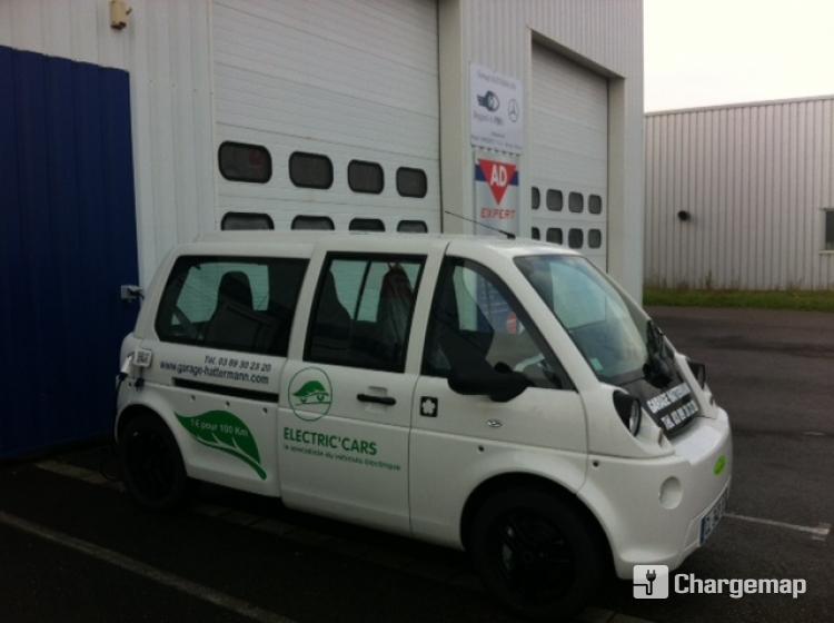 Electric 39 cars garage hattermann ad borne de charge for Ad garage strasbourg