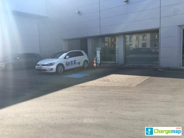 garage losch route de thionville pour les employ s uniquement charging station in luxembourg. Black Bedroom Furniture Sets. Home Design Ideas