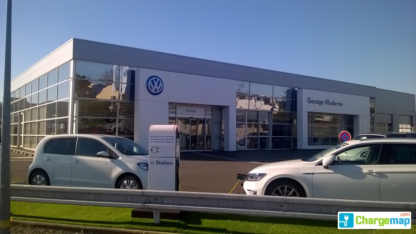 Volkswagen angers borne de charge angers for Garage volkswagen condom