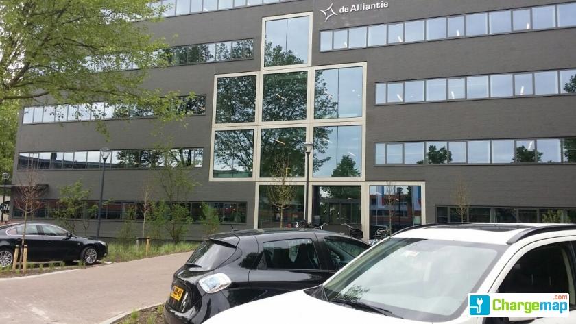 De Alliantie Oplaadstation In Hilversum