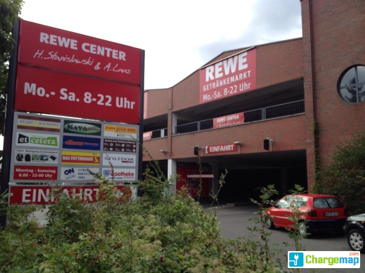 Rewe garage borne de charge hamburg for Garage mobile rennes