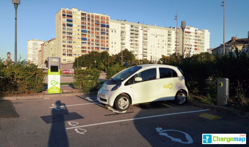 Gare SNCF - Firminy : charging station in Firminy