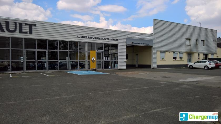 Agent renault luc r publique automobiles borne de charge luc - Garage renault republique ...