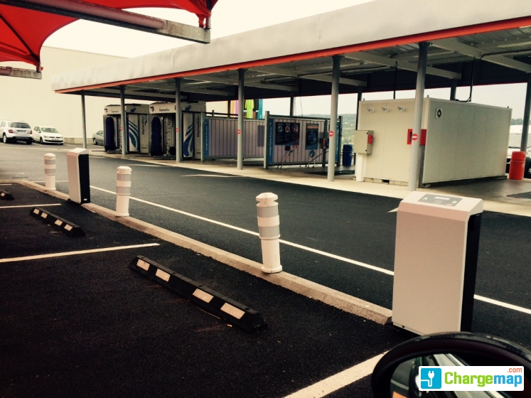 Station service leclerc frouard borne de charge frouard - Recharge leclerc mobile ...