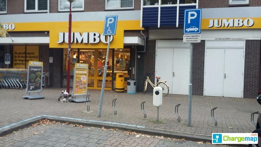 Jumbo Walnootgaarde Charging Station In Nieuwegein